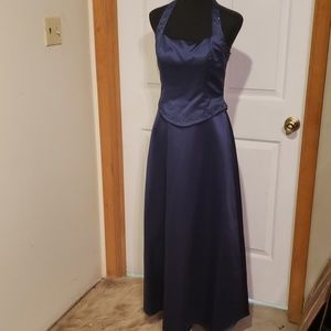 Formal beautiful  size 8 halter dress